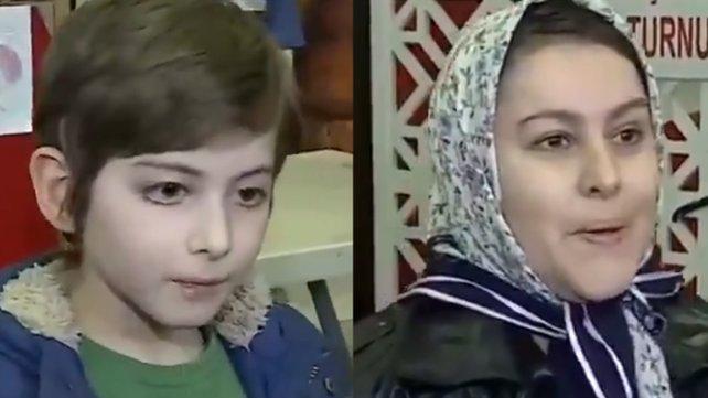 Kristal çocuk Atakan Kayalar'ın annesi ile diyaloğu sosyal madyada olay oldu | Video