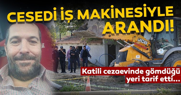 Polis ve jandarma iş makinesi ile 2 gün ceset aradı!