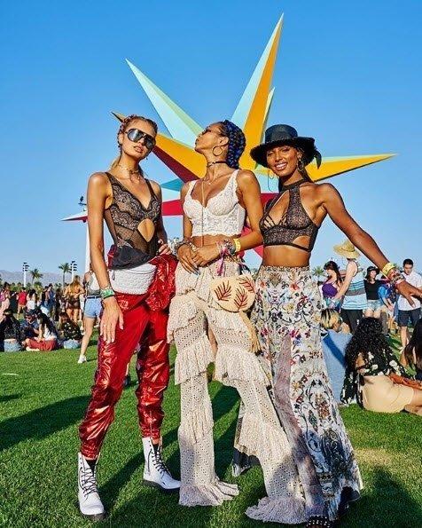 En çok konuşulan Coachella Festivali'nden ilgi çekici kareler...