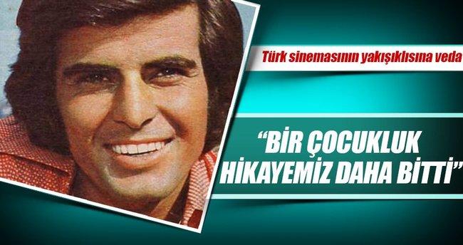 Türk sinemasının yakışıklısından veda