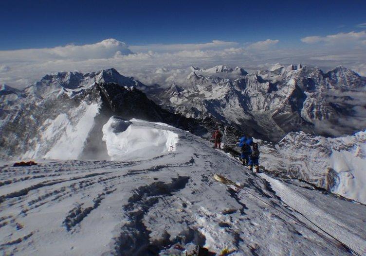 Everest'e çıkmak artık bir hayal