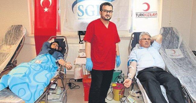 İftardan sonra kan bağışlayın