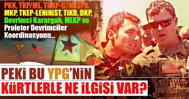 YPG'nin Kürtlerle ne ilgisi var?