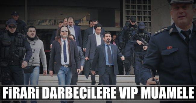 Firari darbecilere VIP muamele...