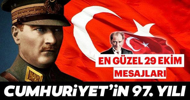 Cumhuriyet Bayramı mesajları 2020! En güzel kısa - uzun, resimli 29 Ekim Cumhuriyet Bayramı mesajları, sözleri ve şiirleri BURADA!