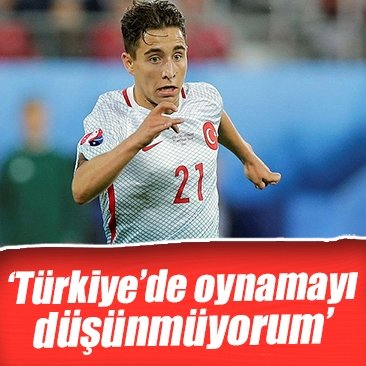 """Emre Mor: """"Herhangi bir Türk kulübüne gitmeyi düşünmüyorum"""""""