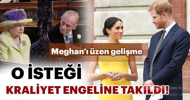 Meghan Markle'ın özel tarifi Kraliyet engeline takıldı!