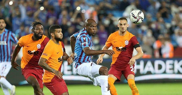 SON DAKİKA! Galatasaray başladı, Fırtına geri döndü! Trabzon'da nefes kesen derbi...