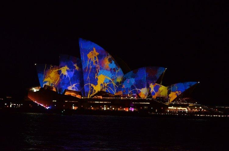 Sydney'den renkli kareler!