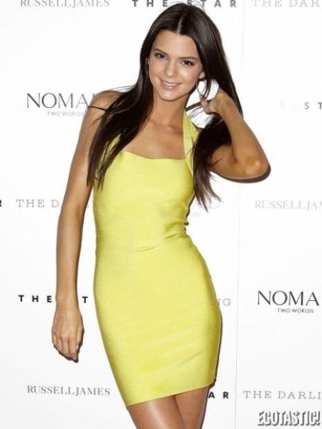 Küçük Kardashian'dan şeffaf trend