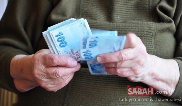 Emekli için zamlı maaş! Emekli maaşları ne zaman yatacak?