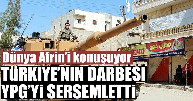 Türkiye'nin darbesi YPG'yi sersemletti