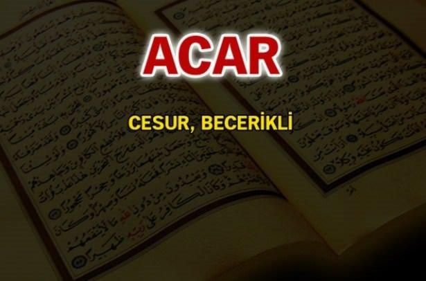 Kuran-ı Kerim'de geçen isimler ve anlamları