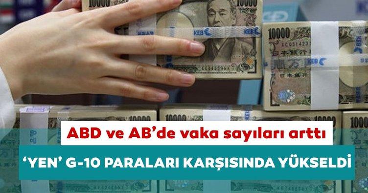 ABD ve Avrupa'daki vaka artışları 'Yen'e yaradı
