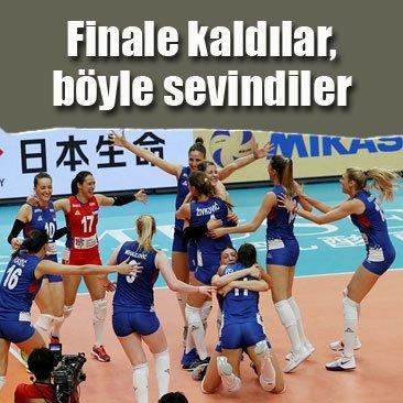 İlk finalist Sırbistan