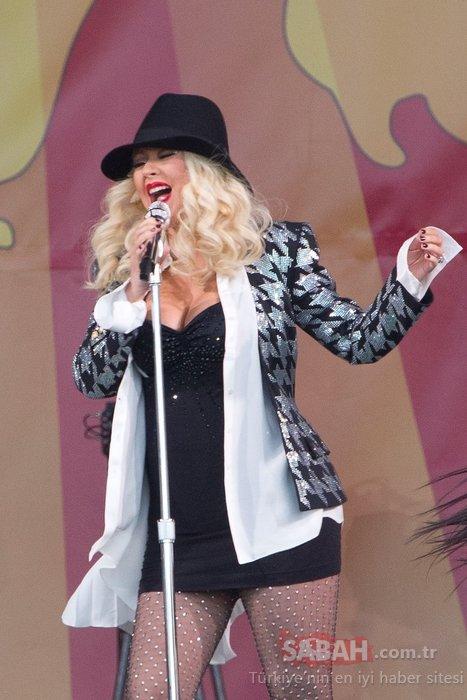 Dünyaca ünlü şarkıcı eleştirilere dayanamadı adeta eridi!