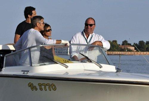 George Clooney Venedik'te