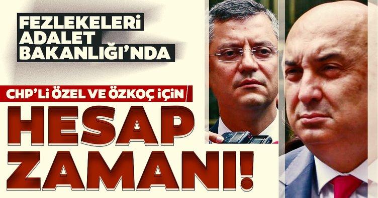 Son dakika: CHP'li Özgür Özel ve Engin Özkoç hakkında hazırlanan fezleke Adalet Bakanlığı'na gönderildi...