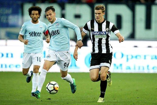 Udineseli futbolcular Lazio maçına 10 farklı forma ile çıktılar