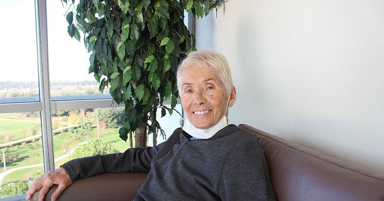 77 yaşında hem COVID-19'u hem de akciğer kanserini atlattı!