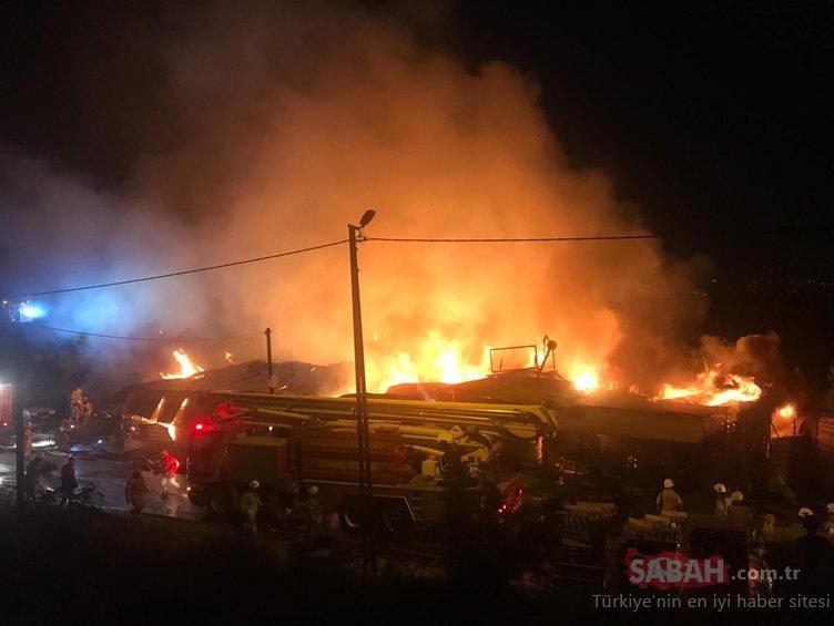İstanbul'da korkutan yangın! Ekipler oraya sevk edildi...