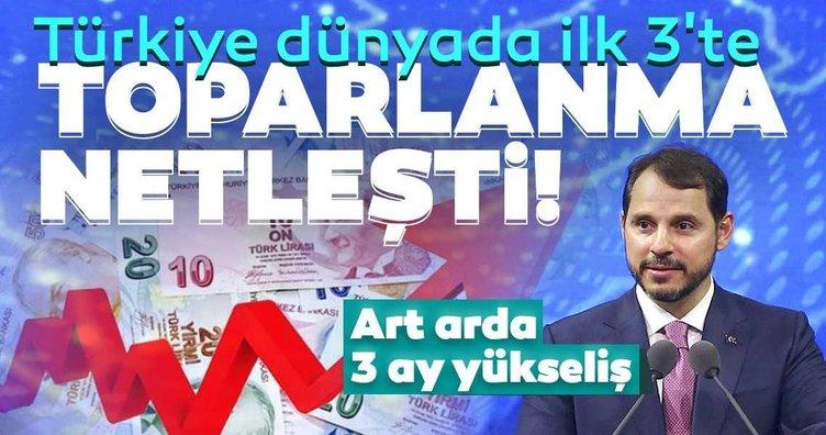 Türkiye dünyada ilk 3'te: Toparlanma netleşti!