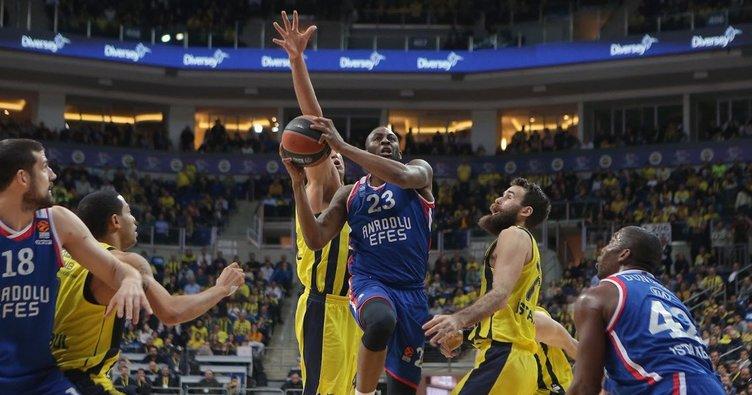 THY Avrupa Ligi'nde Fenerbahçe Beko ve Anadolu Efes'in çeyrek heyecanı