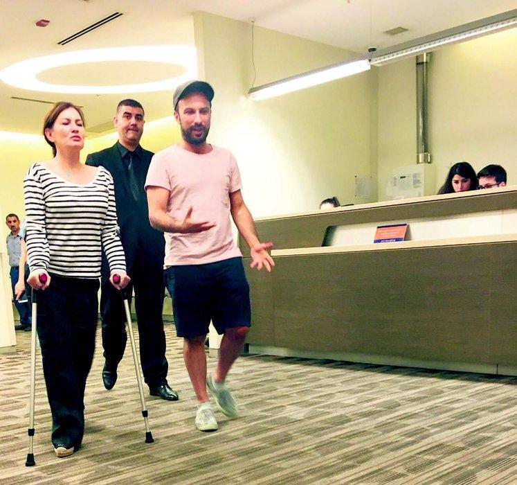 Tarkan'ın eşi Pınar Dilek gizlice ameliyat oldu