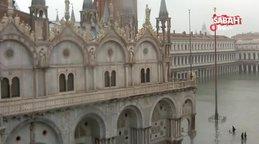 Şiddetli yağışlar Venedik'i vurdu 2 ölü