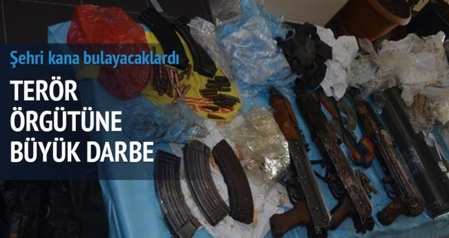 Kocaeli'nde PKK'ya büyük darbe