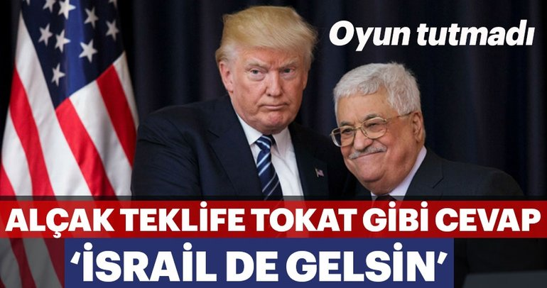 ABD'nin çirkin Filistin Planı sızmaya başladı