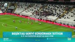 Beşiktaş seriyi sürdürmek istiyor