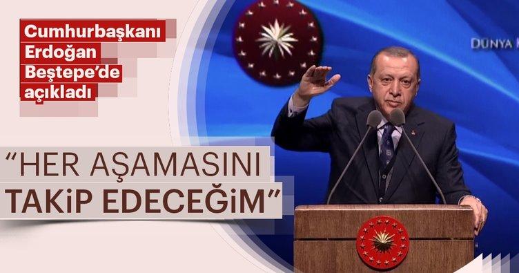 Cumhurbaşkanı Erdoğan Beştepe'de açıkladı: Kadının güçlenmesi eylem planı hazırlandı
