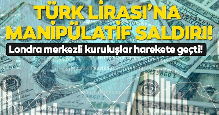 Londra merkezli finansal kuruluşların Türk lirasına saldırıları sürüyor! Düzenleyici kurumlar harekete geçti