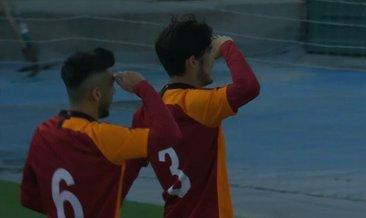 Galatasaray, UEFA Gençlik Ligi'nde Real Madrid'i 4 golle çekti! Asker selamıyla gönülleri fethetti