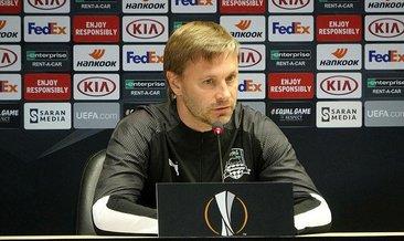 Sergey Matveev: Ortamı biliyoruz ve Trabzonspor'un da farkındayız
