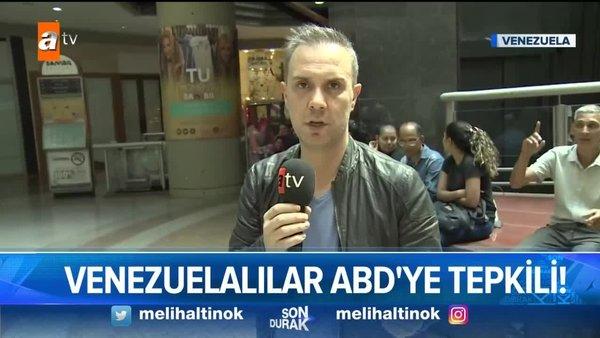 'Son Durak' Venezuela'daki büyük direnişi yerinde izledi! İşte Venezuela gerçeği...