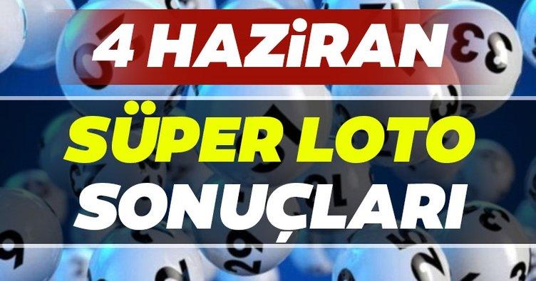 Süper Loto sonuçları belli oldu! Milli Piyango 4 Haziran Süper Loto çekiliş sonuçları, MPİ ile hızlı bilet sorgulama BURADA!