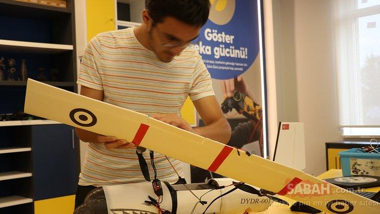 Afetler için yapay zekayla donattıkları model uçak geliştirdiler