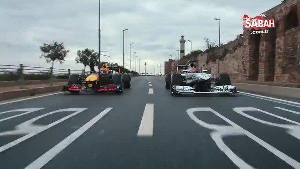 Formula 1 Türkiye Grand Prixi için İstanbul'da çekilen reklam filminin tamamı yayınlandı | Video