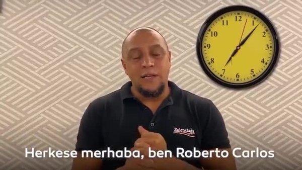 Roberto Carlos'tan Galatasaray-Fenerbahçe derbisi paylaşımı!