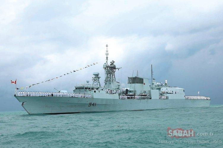 NATO savaş gemisi 19 gün sonra Karadeniz'den ayrıldı