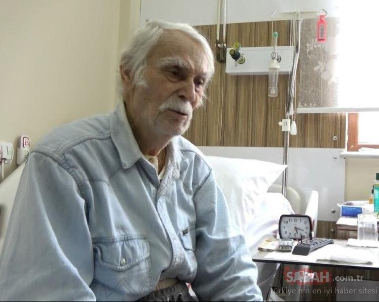 Yeşilçam'ın unutulmaz oyuncusu Eşref Kolçak hastaneye kaldırıldı!