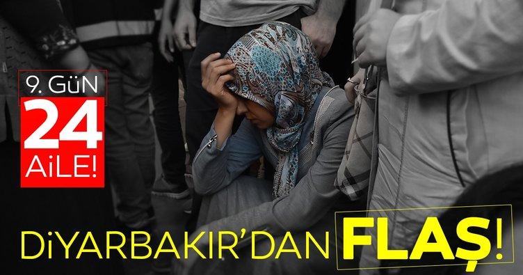 HDP önündeki eylemde 9'uncu gün; aile sayısı 24 oldu