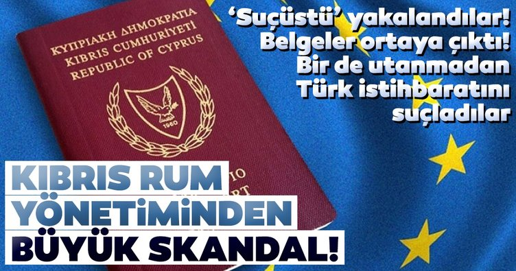 Kıbrıs Rum kesimi 'suçüstü' yakalandı! Belgeler ortaya çıktı! Bir de utanmadan Türk istihbaratını suçladılar