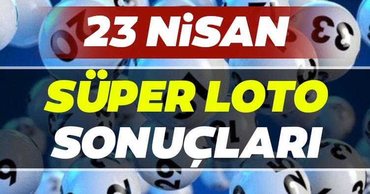 Süper Loto sonuçları belli oldu! Milli Piyango 23 Nisan Süper Loto çekiliş sonuçları ve hızlı bilet sorgulama BURADA...