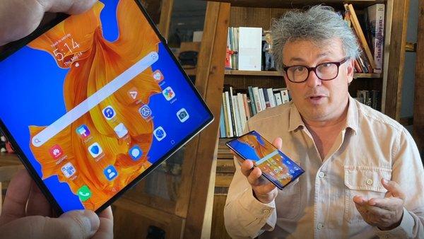 İşte katlanabilir ekranlı Huawei Mate Xs... Tablet mi Akıllı Telefon mu?    Video