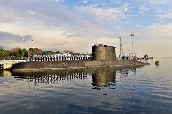 Türk donanmasının, denizaltındaki sessiz gücü böyle görüntülendi
