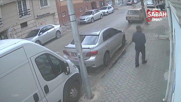 Eskişehir'de kapıları zile basarak açtıran bisiklet hırsızı kamerada   Video