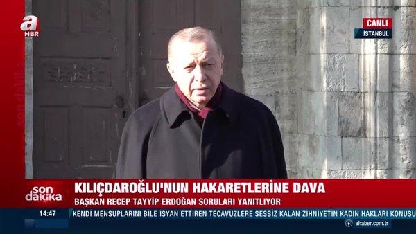 SON DAKİKA! Cumhurbaşkanı Erdoğan'dan CHP'deki taciz skandalları ile ilgili flaş açıklama | Video